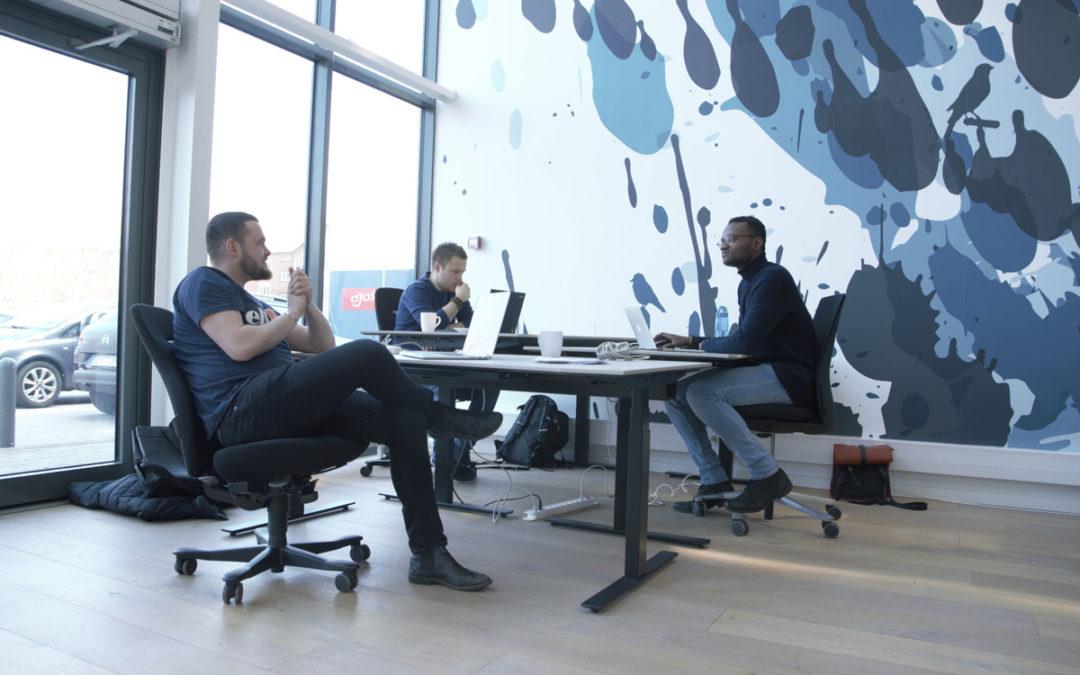 Tre friske gutter bidrager til thought leadership på møder