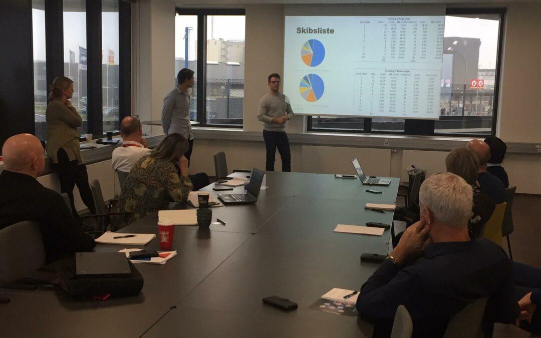 Talenter analyserer uudforsket forretningsområde for Aarhus Havn.