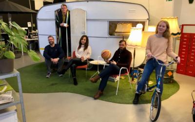 Talentfuldt hold viser, at lykken for startup-virksomheder er kontorfællesskaber