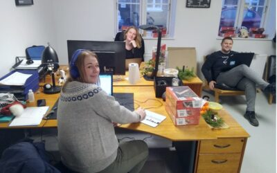 Talenter samler puslespillet for virksomheden Plan2fly