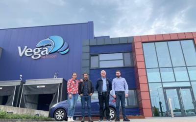 Talenter hjælper virksomheden Vega Salmon med udfordringer med labels på det internationale marked